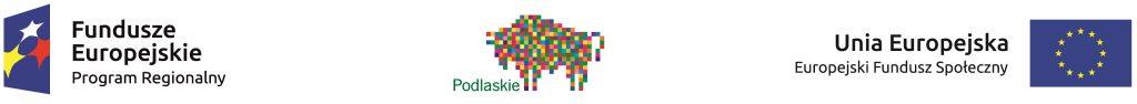 Loga Funduszy Europejskich, Unii Europejskiej iWojewództwa Podlaskiego